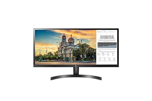 LG 34WL500 86,36 cm (34 Zoll) FHD UltraWide Monitor (AH-IPS-Panel, HDR10, AMD FreeSync), schwarz