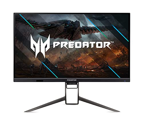 Predator XB273KGP Gaming Monitor 27 Zoll (69cm Bildschirm) 4K (UHD),144Hz/136Hz Oveclock DP, 120Hz DP, 60Hz HDMI, 1ms (VRB), 2xHDMI 2.0, 2xDP 1.4, höhenverstellbar, drehbar, GSync Compatible, HDMI VRR