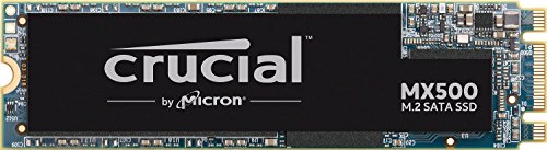 Crucial MX500 500GB CT500MX500SSD4-bis zu 560 MB/s (3D NAND, SATA, M.2 Type 2280SS, Internes SSD)