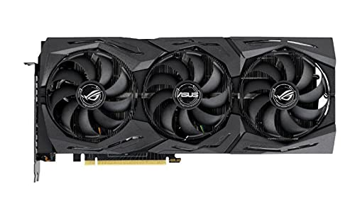 ASUS ROG Strix GeForce RTX 2080 Super 8G OC Edition Gaming Grafikkarte (GDDR6 Speicher, PCIe 3.0, 2x HDMI 2.0b, 2x DisplayPort 1.4, USB Typ-C, ROG-STRIX-RTX2080S-A8G-GAMING)