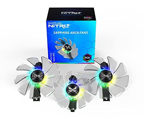 SAPPHIRE GEAR ARGB FAN 3 IN 1 FOR NITRO+ RX 5700 SERIES LITE