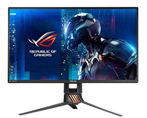 ASUS ROG Swift PG258Q 62,33 cm (24,5 Zoll) Gaming Monitor (Full HD, 1ms Reaktionszeit, bis zu 240Hz, HDMI, DisplayPort, USB3.0, G-Sync)
