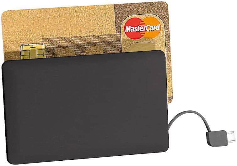 Revolt Powerbank Kreditkarte