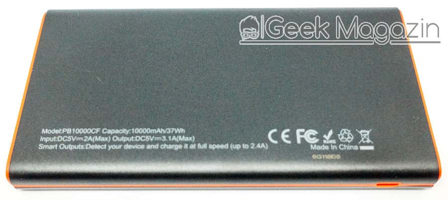 EasyAcc-PB10000CF Rückseite