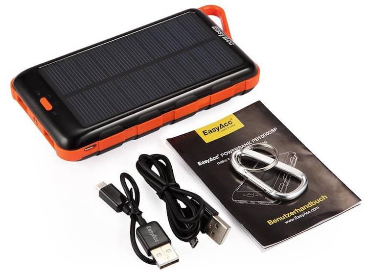 EasyAcc Solar Powerbank