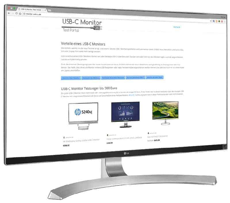 4K UHD USB-C Monitor LG