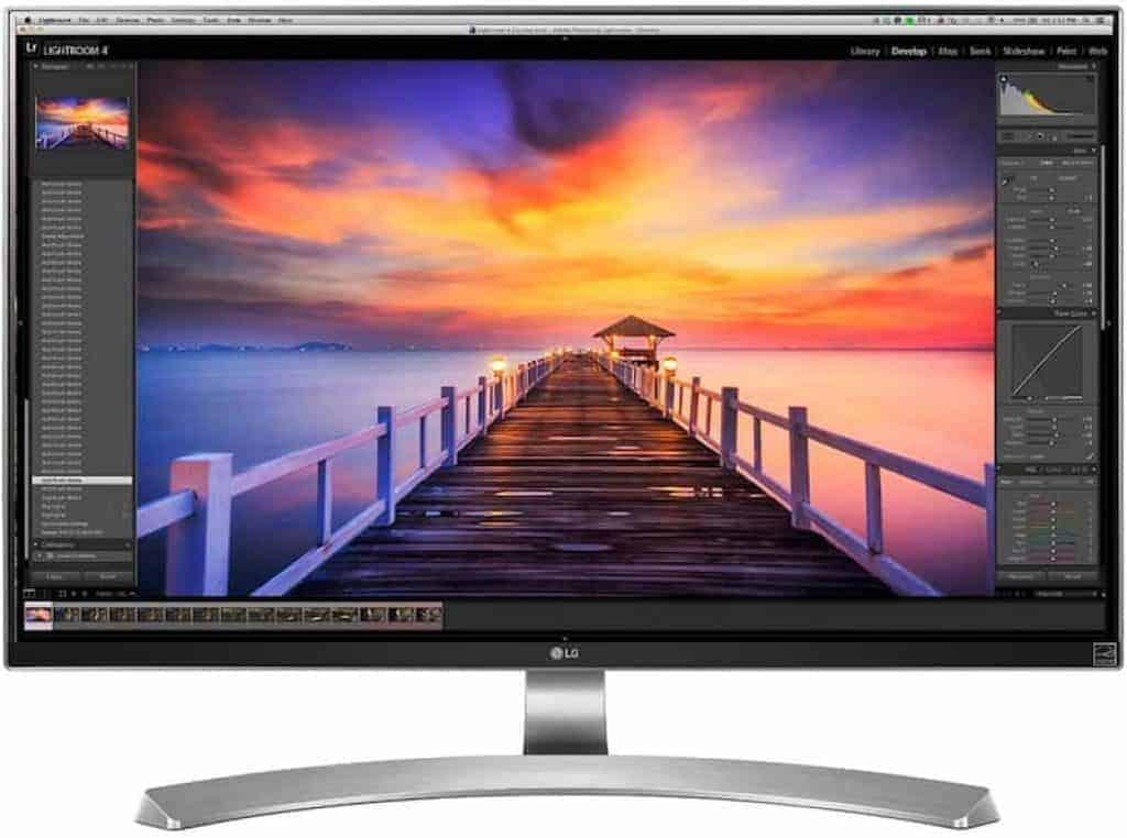 LG 27UD88-W 4k USB-C Monitor