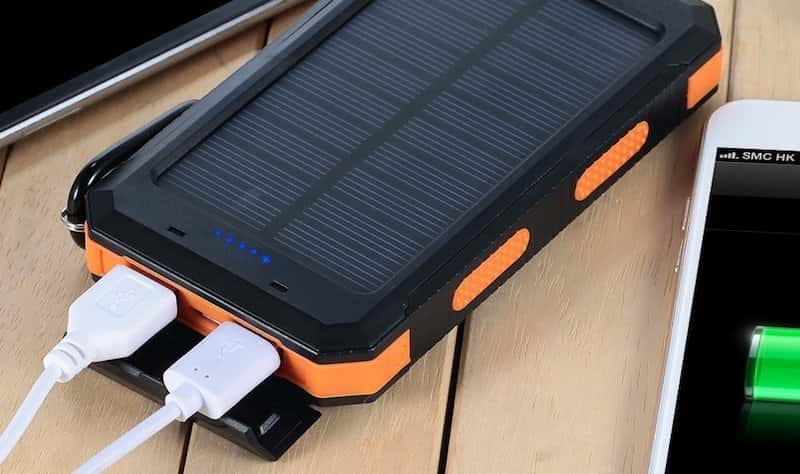 robuste Solar Powerbank