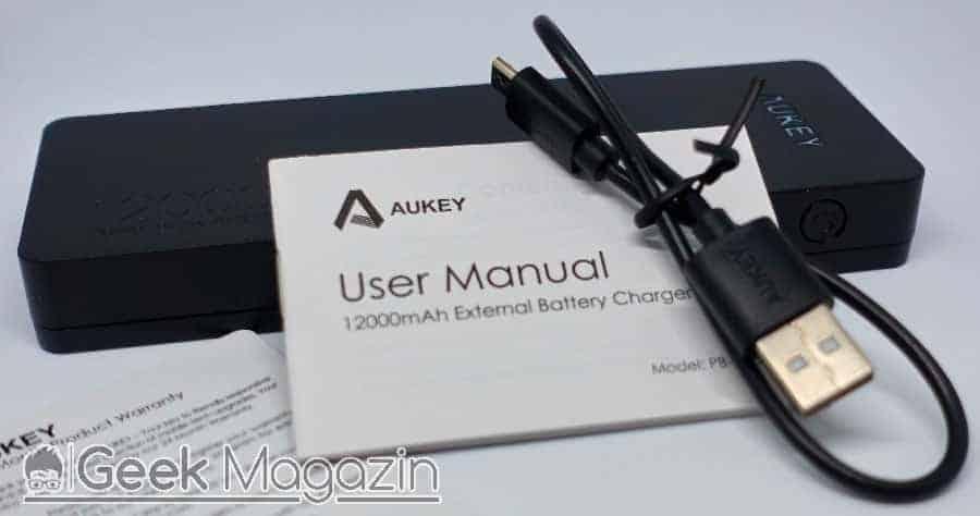 Aukey 12000mah Powerbank