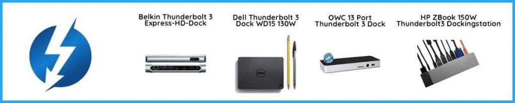 Thunderbolt 3 Dock Vergleich