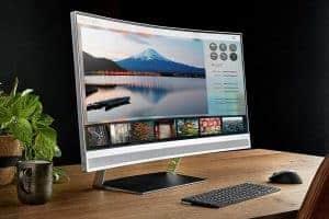 Curved Bildschirm - HP Envy 34