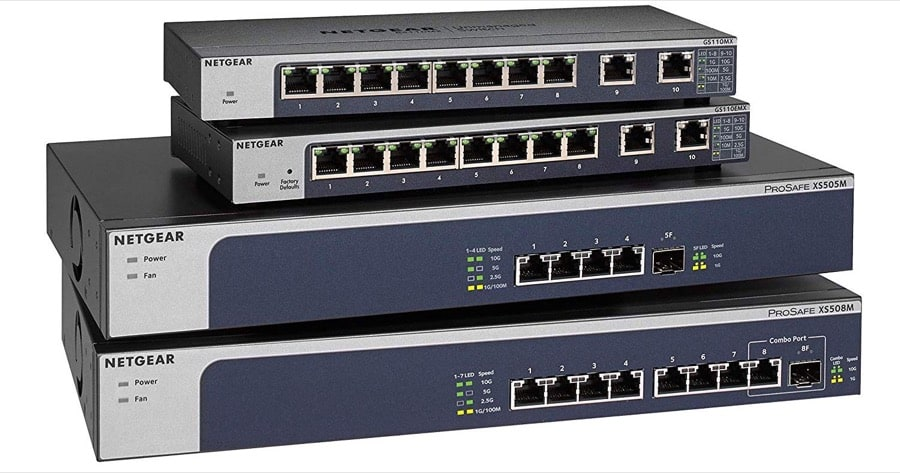 10 Gbit Switch Modelle