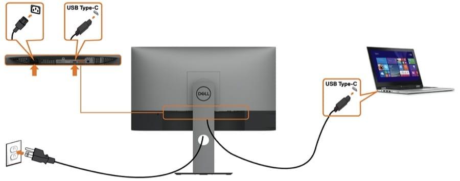 USB-C U2419HC