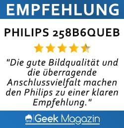 Empfehlung Philips 258B6QUEB