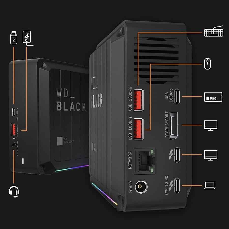Thunderbolt 3 Dock SSD