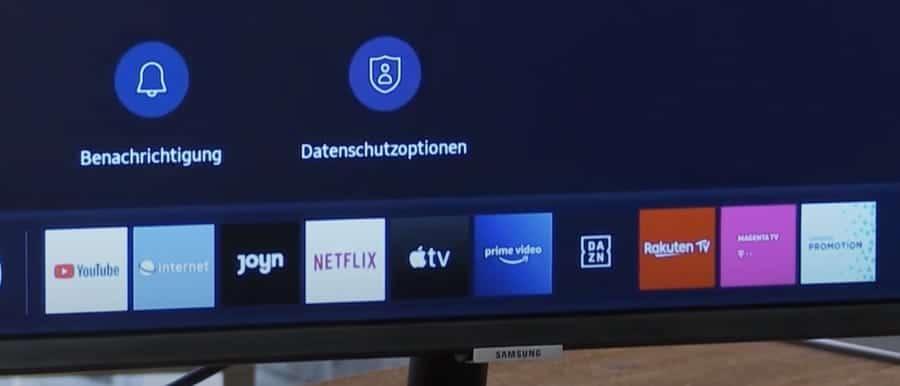 Monitor mit Netflix