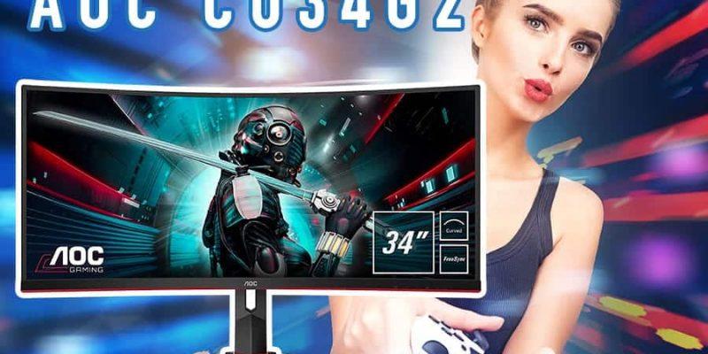 Der Gaming Monitor CU34G2 von AOC: Gute Ausstattung bei geringen Kosten