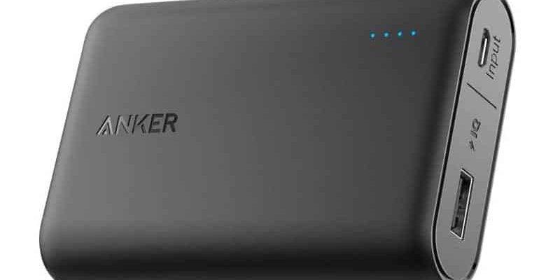 Anker PowerCore 10000mAh – kleine leichte Powerbank