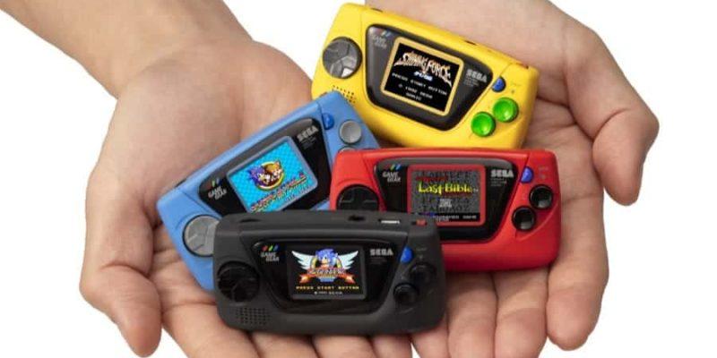 Sega bringt zum 60 jährigen Firmenjubiläum ein winziges Game Gear Micro heraus