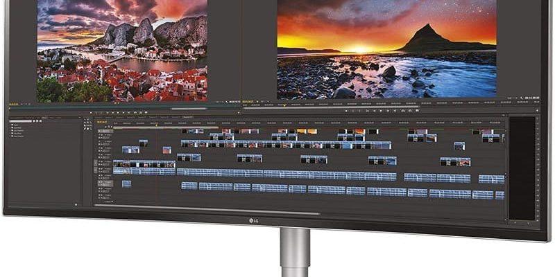 LG 38WN95C-W – Curved UltraWide-Monitor mit 38 Zoll