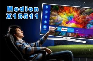 Medion X15511 – der günstige Einstieg in die 4K Welt