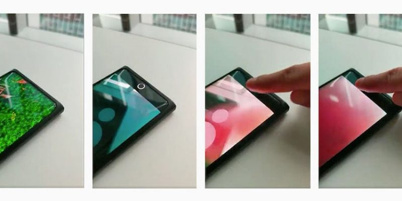 Oppo verlegt die Selfie Kamera unter das Display