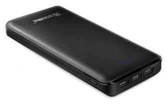 Powerbank 20000mAh 3 USB Ports Coolreall