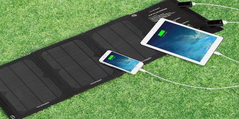 Solar Powerbank – Testsieger 2021 von RAVPower