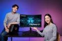 Samsung Odyssey G7 – Curved QLED Gaming Monitor mit 240 Hz