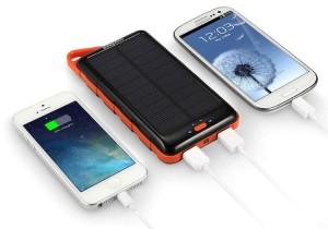 EasyAcc 15000mAh Solar Powerbank Test