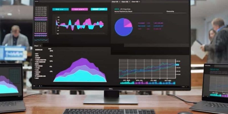 Dell U4320Q – riesiger Monitor für bis zu 4 Geräte