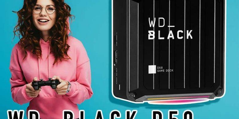 WD_BLACK D50 – Thunderbolt 3 Dock mit SSD
